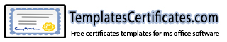 Visio Templates Certificates