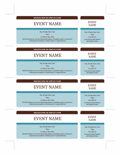 templates certificates event tickets tickets certificates. Black Bedroom Furniture Sets. Home Design Ideas