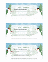Vacation Endowment Certificates (vacation Figure Designinginging, 3...
