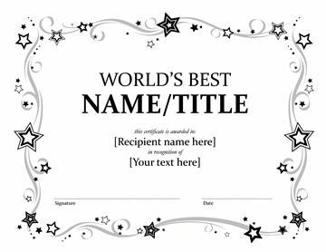 Global's Better Awarding Certificate (bleak And Snowy)