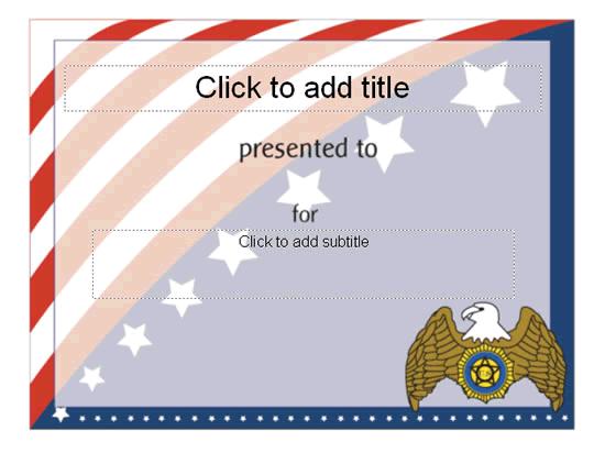 Award certificate american flag design free certificate award certificate american flag design yelopaper Images