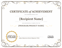 Certificate Of Accomplishment