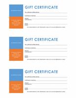 Endowment Certificates (colour City City City Block, 3 Per Page)