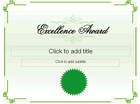 Excellence Award Certificate Free Certificate Templates In – Certificate of Excellence Template Free