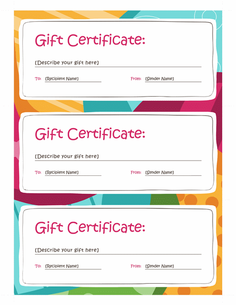 Download amp free certificate templates for ms office for Free gift certificate template word