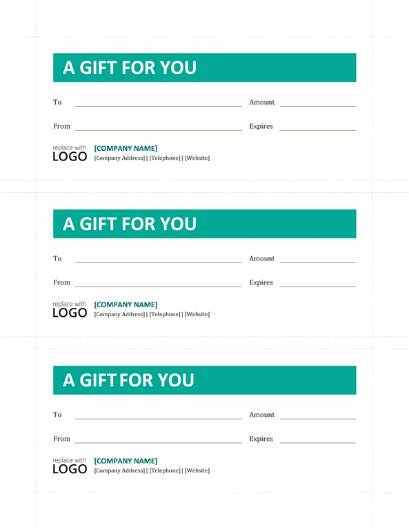 download blank gift certificate template word free