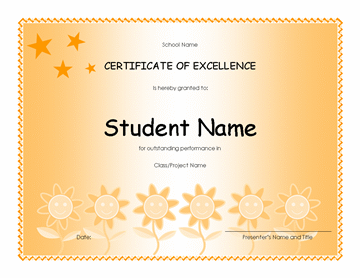 Pupil Excellency Award