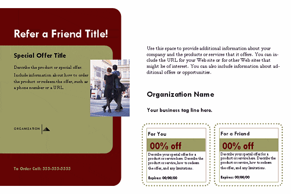 customer referral form template