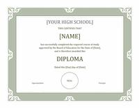 Sheepskin Certificate