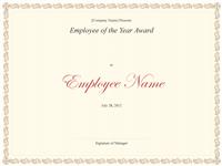 Worker Of The Twelvemonth Awarding
