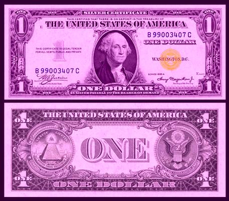 1935 silvernnn certificate dollar measure measure measure for Dollar certificate template