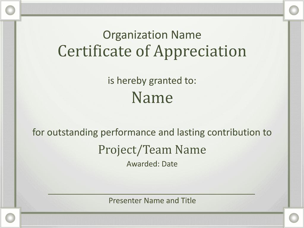 Acknowledge Prominent Public Presentation Certificate Of Grasp Grayscale