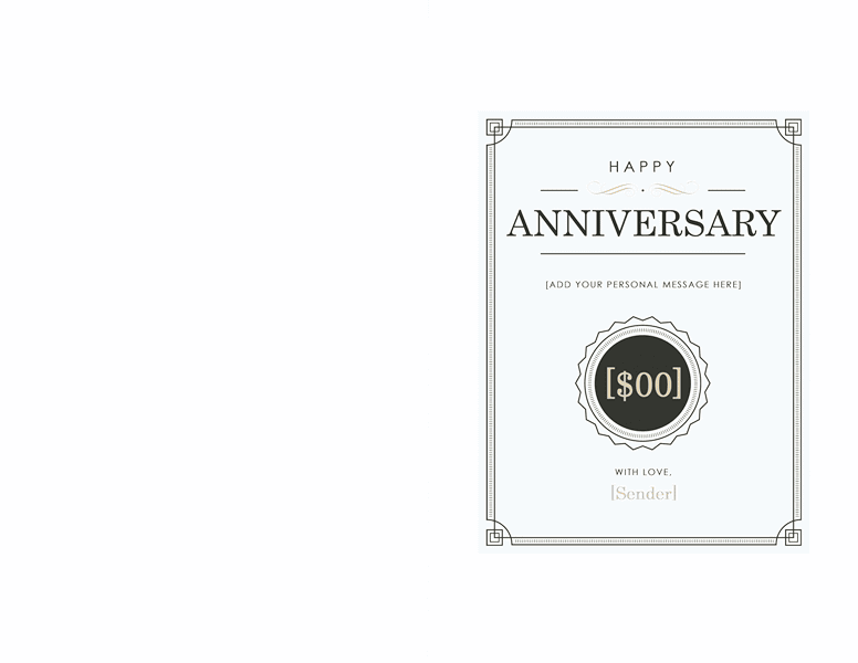 Download blank gift certificate template word free certificate download anniversary gift certificate template word 2003 02 yadclub Image collections