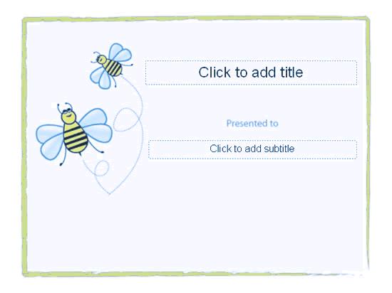 Awarding Certificate (bumble Designing) Blue