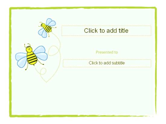 Awarding Certificate (bumble Designing) Green