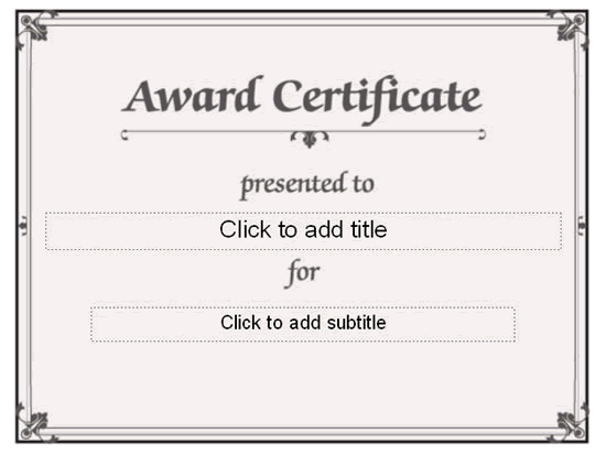 Awarding Certificate conventional Designing Free Certificate – Formal Certificate Template