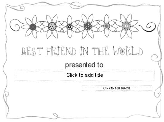 Better Ally Awarding Certificate Grayscale