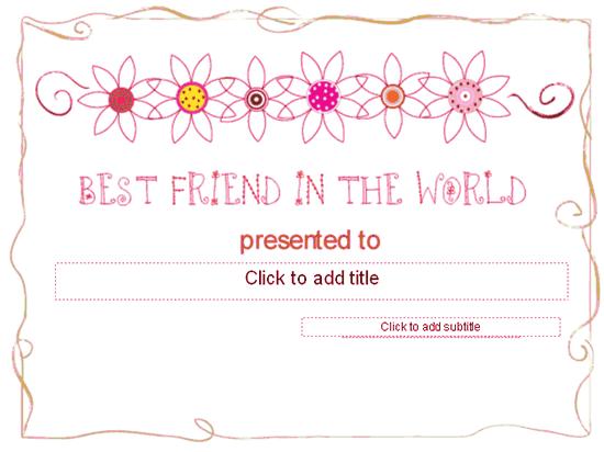 Better Ally Awarding Certificate Red