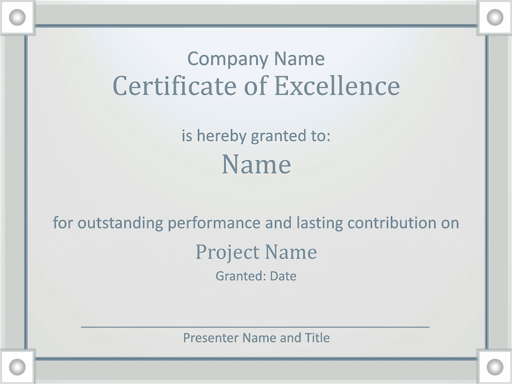 worker certificate templates for ms office certificate of worker excellency grayscale