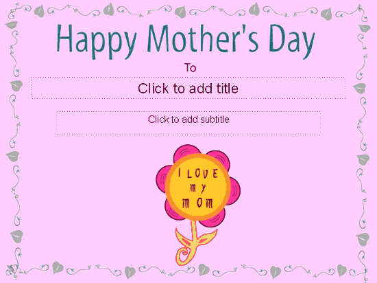 Mother's Day Gift Certificate Templates  |Happy Mothers Day Certificate Printables