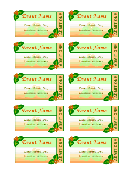 Download Certificate Templates About Event