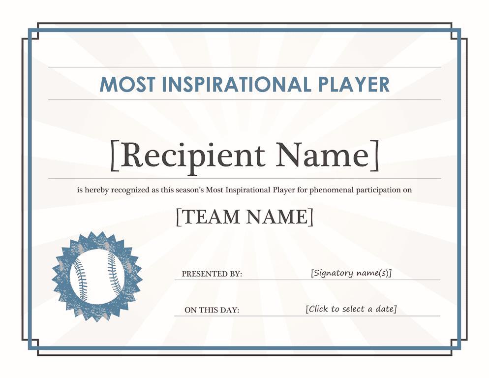 editable certificate templates
