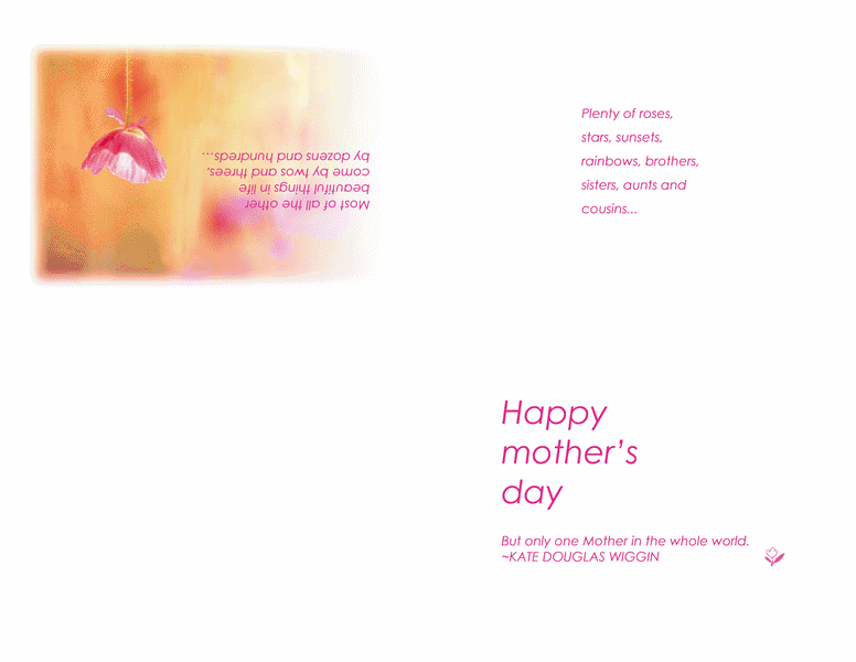 Printable Happy Mothers Day Cards 01