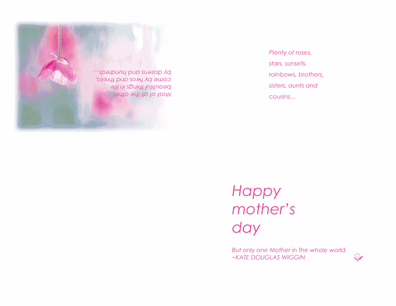 Printable Happy Mothers Day Cards 02