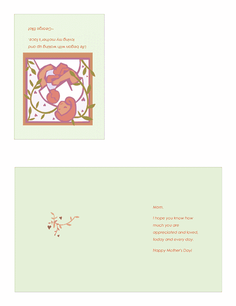 Printable Mothers Day Cards With Baby 01