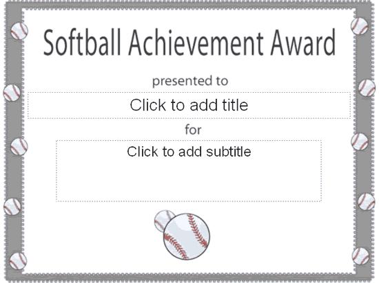 softball awards certificates thevillas co