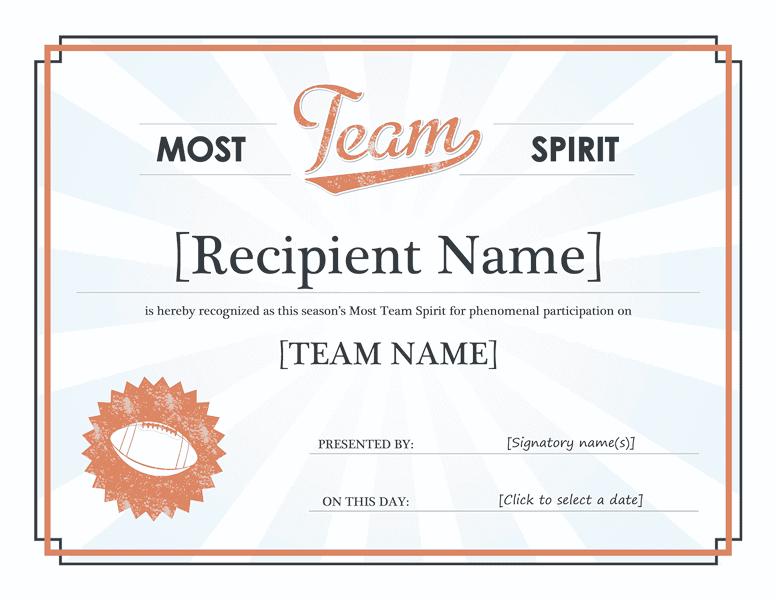 Squad Tone Awarding Certificate Blue