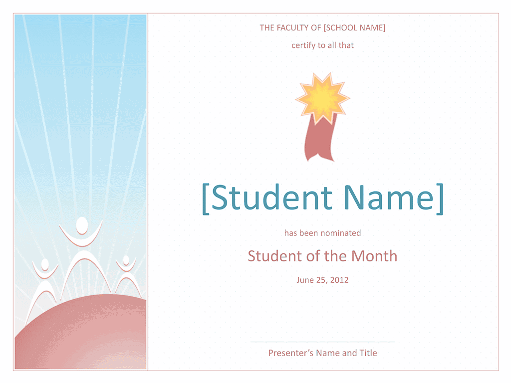 Star Student Certificate 02