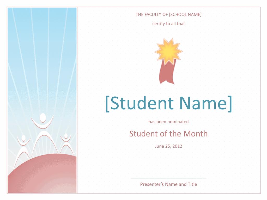 Star Student Certificate 02